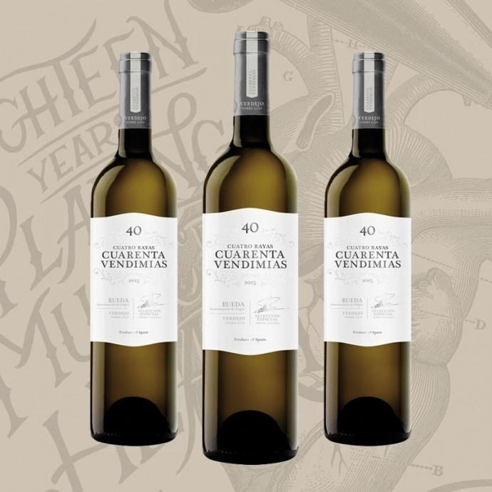 Cuarenta Vendimias - Wine of the 18th Anniversary of Garito Café