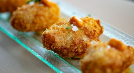 HOMEMADE SMOKED CHICKEN CROQUETTES